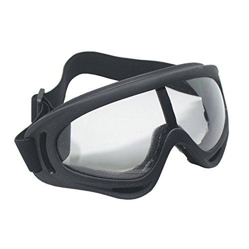 liber Gafas de seguridad para bicicleta, motocicleta, baloncesto, fútbol, gafas de seguridad, gafas de protección para juegos al aire libre (transparente)