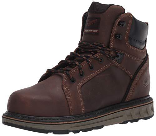 """Danner Steel Yard 6"""" Brown Hot St Wedge Work Boot 14 W US"""