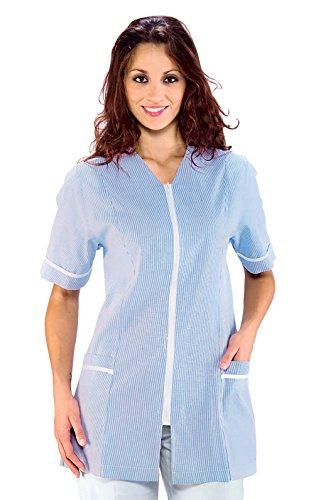 Isacco 006802 Victoria Kasack, Größe L, Blau