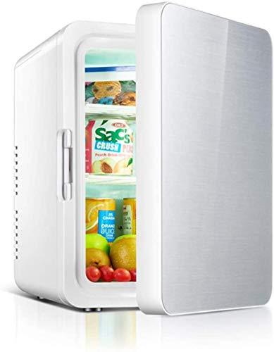 Mini refrigerador de 10L Refrigerador eléctrico Refrigerador portátil para el hogar Refrigeradores de Doble Uso Congelador de refrigerador de Coche de bajo Ruido Refrigerador de Hielo frío