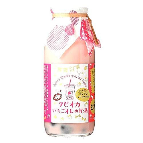 菊水酒造『タピオカいちごオレのお酒』