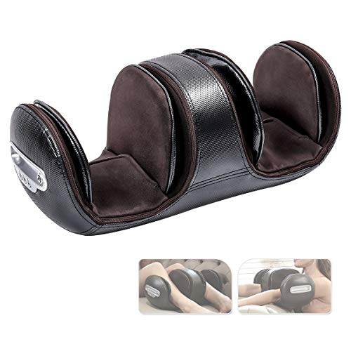 VANI Knee Massager with Heat and Vibration,Foot Massager with Electric Heating Pad Air Compression for Joint Pain Relief Therapy,Ideal Gift for Parents and Families