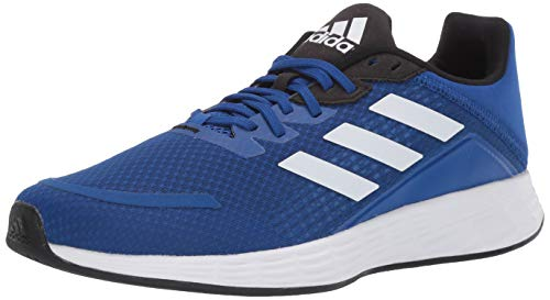 adidas mens Duramo Sl Running Shoe, Royal Blue/White/Black, 10.5 US