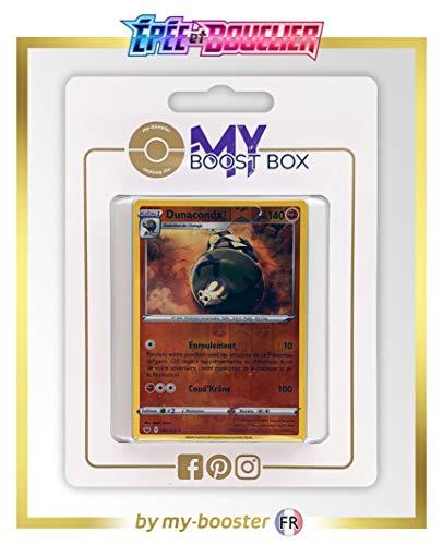 my-booster Dunaconda 109/202 Holo Reverse - Ultraboost X Epée et Bouclier 1 - Coffret de 10 Cartes Pokémon Françaises