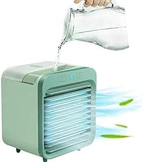 El último mini acondicionador de aire portátil recargable refrigerado por agua de escritorio en 2020, ventilador de enfriamiento de aire móvil personal para la oficina de la habitación del hogar