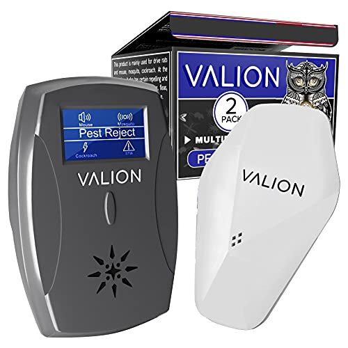 Pest Control Ultrasonic Repellent - Electronic Pest Control Repels...