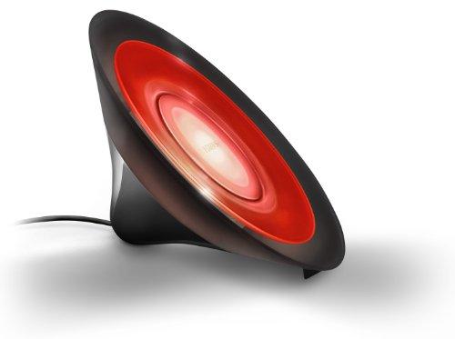 Philips Living Colors Aura, Energiesparende LED-Technologie mit 8 Watt, 16 Millionen Farben, mit Fernbedienung, schwarz 7099830PH - 5