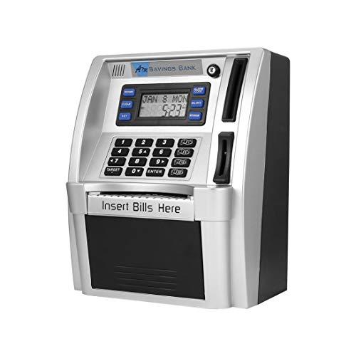 Cajeros automáticos de ahorro Cuentas de inserción en el
