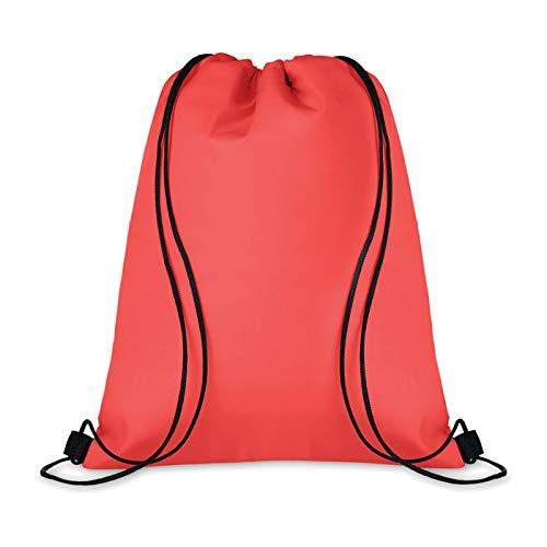 Mid Mochila nevera con revestimiento de aluminio aislante térmico, capacidad 15 l, 33 x 42 cm. Camping, termo alimentos (rojo)