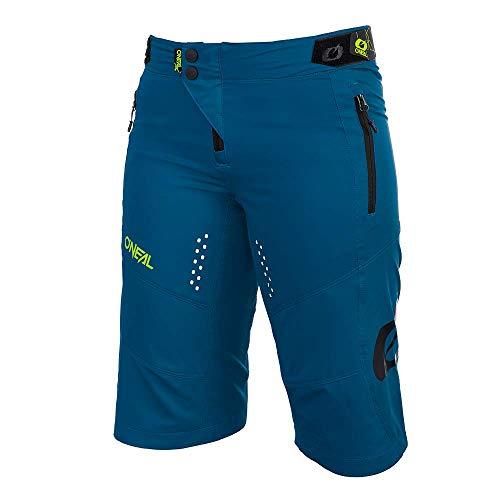 O'Neal | Pantaloncini da Mountain Bike | MTB Mountainbike DH Downhill FR Freeride | Taglio Femminile, Traspirante e Traspirante Stretch | Pantaloncini da Donna Soul | Adulto | Petrol | Taglia XL