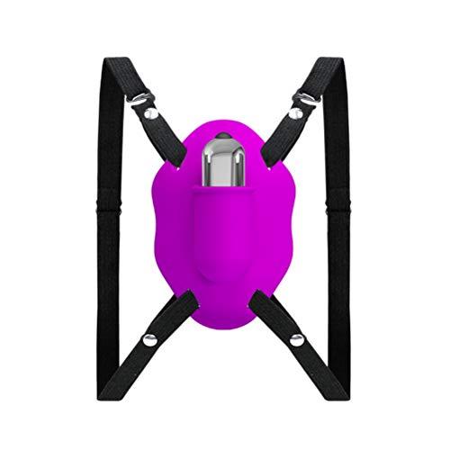SLS-QFQ Spielzeug Invisible Wearable V Ǐbrator G-Spǒt Màsturbation for Clǐtoris Vagǐna Stǐmulation Mit 10-Gang-Modus Màssager Sěx Things for Solo Mit Nicht gekennzeichneter Verpackung