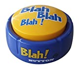 Blah Button  Talking Blue Button Features Hilarious Blah Sayings  Talking Novelty Gift for Laughs and Stress Relief  Talkie Toys Products