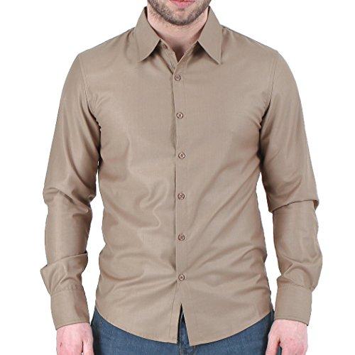 Newfacelook Élégant Stunning Hommes Mince Occasionnels Amincissent Les Chemises habillées Belle Slim Fit Shirt Collection