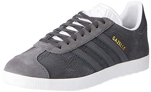 adidas Damen Gazelle Sneaker, Grau Gricin/Ftwbla 0), 36 2/3 EU