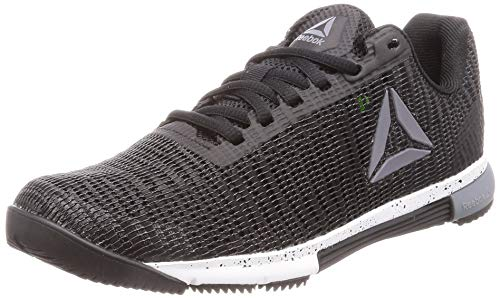 Reebok Speed TR Flexweave, Zapatillas de Deporte Interior Mujer, Multicolor (Black/Cold Grey/White 000), 40 1/3 EU