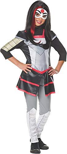 birthdayexpress kids costumes Rubie's Costume Kids DC Superhero Girls Deluxe Katana Costume, Medium