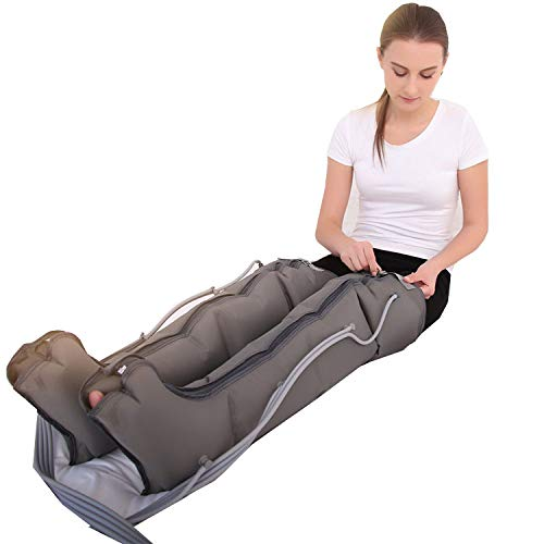 SqSYqz Air Wave Pressure Massager, Elderly Pneumatic Leg Massager Physiotherapy, Relax Instrument Promote Blood Circulation