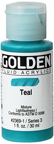 Pro-Art Teal-Golden líquido acrílico, acrílico, Multicolor