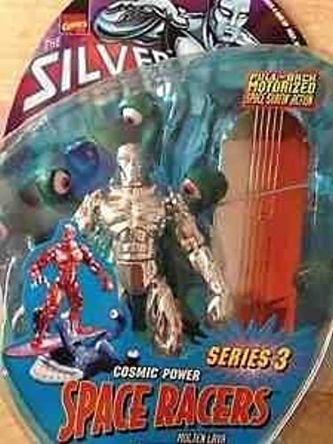 Silver Surfer Molten Lava Action Figure Cosmic powers space racer by Toy Biz