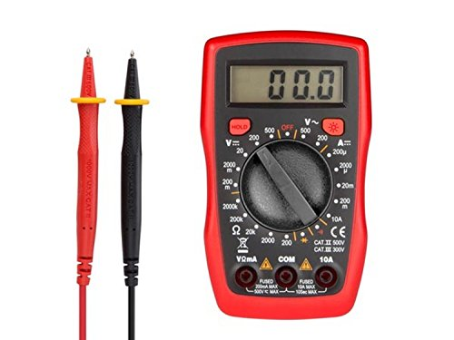 VELLEMAN - DVM841 Digital-Multimeter- Cat Ii 500V / Cat Iii 300 V- 10A 410223