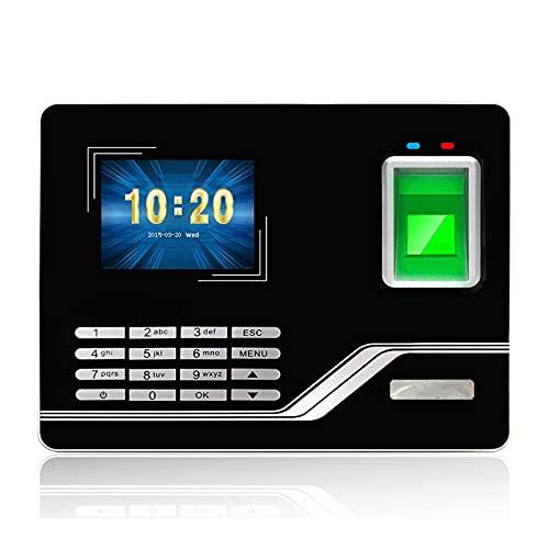 Máquina para presencias, sistema de presencias de Fingerprint TCPIP Password USB Password Access Control Office Time reloj