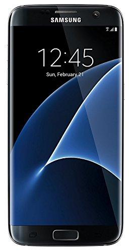 Samsung Galaxy S7 Edge Certified Pre-Owned Factory Unlocked Phone - 5.5  Screen - 32GB - Black Onyx (1 Year Samsung U.S. Warranty)