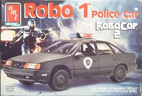 6059 AMT Robo 1 Police Car from Robo Cop 2 1 25 Scale Plastic Model Kit,Needs Assembly