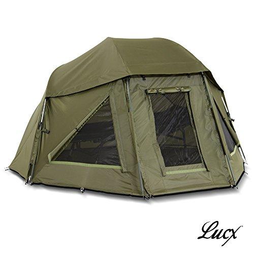 Lucx® Schirmzelt/Brolly/Shelter/Angelzelt/Karpfenzelt/Zelt/Campingzelt, 10.000mm Wassersäule