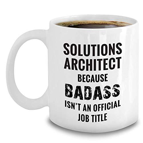 Lösningar arkitekt mugg - skämtgåvor för IT Solution arkitekter 325 ml