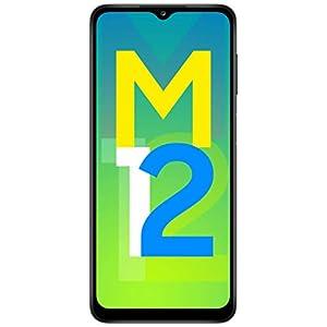 Samsung Galaxy M12 (Black,4GB RAM, 64GB Storage) 6000 mAh with 8nm Processor   True 48 MP Quad Camera   90Hz Refresh… 10 414+jSW+DjL. SS300