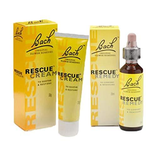 Bach Rescue Remedy Cream[30ml] En Bach Rescue Remedy Drops[20ml]
