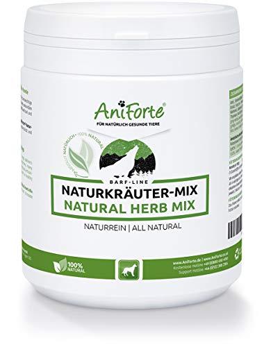 AniForte Barf Naturkräuter Mix 250 gr. Producto natural para perros. Ayuda a la Digestión, Sistema Inmunológico Optimizado