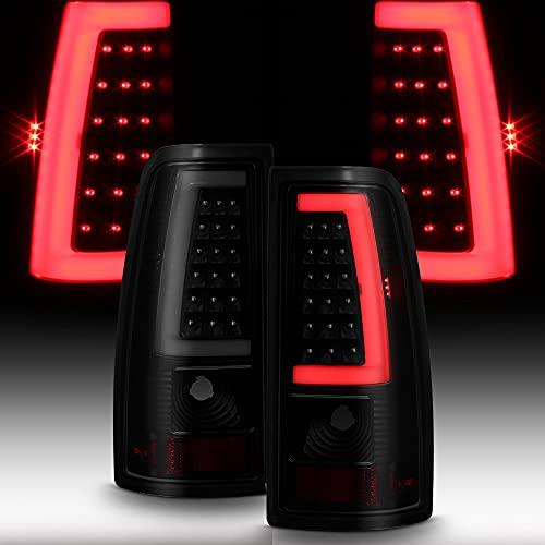 01 silverado black taillights - 1