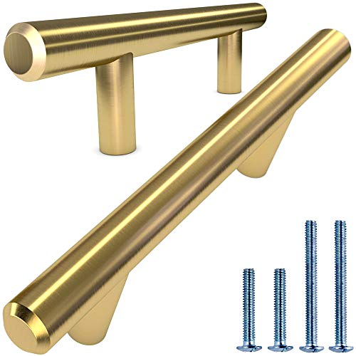 Alpine Hardware Solid Euro Style Bar Handle Pull   25Pack ~3.75