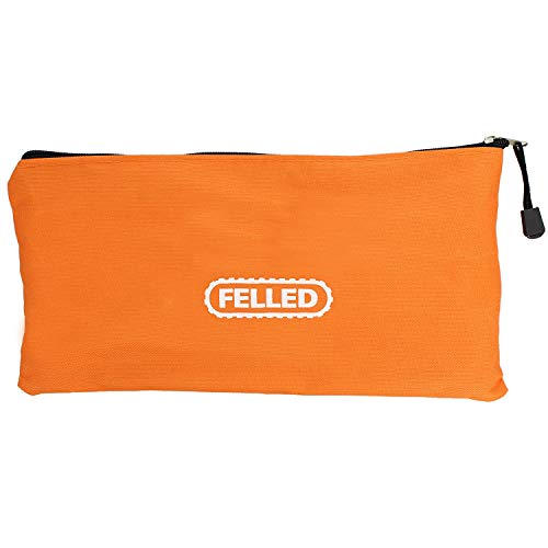 Felled Soft-Sided Chainsaw Carrying Case 18 Inch to 14 Inch and Chainsaw Sharpening Kit File Set, Guide Set, Depth Gauge