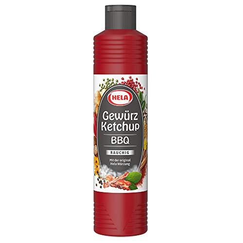 Hela BBQ Gewürz Ketchup 800 ml, 6er Pack (6 x 800 ml)