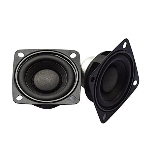 Wnuanjun 2 stücke Full Range Mini Audio Sound Lautsprecher 2 Zoll 4 Ohm 10/15 / 20W DIY Soundbar Tragbare Lautsprecher HiFi Bluetooth Lautsprecher (Farbe : 4 Ohm 10 W Speaker)