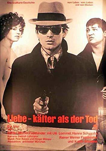 Liebe - Kälter als der Tod Filmplakat A1 84x60 gefaltet