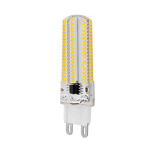 GR G9 Led Bulb 7W G9 Lampada a risparmio energetico 152 SMD 3014 LED Corn Light dimmerabile AC 220V [Classe energetica A +++] Confezione da 10 (Color : Warm White)