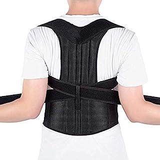 comprar comparacion Corrector de Postura Espalda, Ajustables Apoyo de Espalda, Enderezador de Espalda, Cinturón Corrección de Postura para Hom...