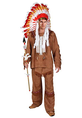 Deluxe Men's Indian Costume - L