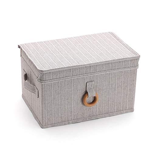 Tie Box Chambre Maison Multi-Fonction Voyage Vêtements de Stockage Boîte de Finition Grande capacité Portable Pliant boîte de Rangement (Color : M)