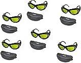 6 PCS 200nm 2000nm IPL Laser Protective Goggles Safety Glasses OD5+ CE UV400 BP-6006