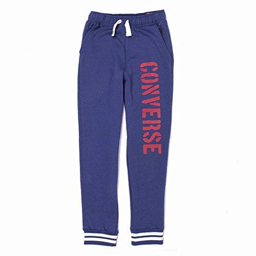 Converse Jungen Marineblau Jogginghose Trendy Slim Fit Elastischer Bund/Knöchel 10-15Y (10-12 Jahre / 140-152cm)