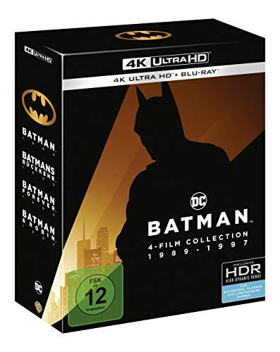 Batman 1-4 - 4K Collection (4K Ultra HD + Blu-rays) (8 Discs)