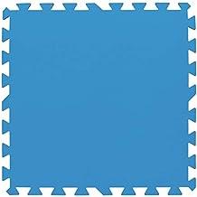 Bestway 58220–Alfombra sottopiscina Bestway Modular–8piezas para un total de 2m²