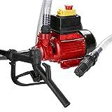wolketon Dieselpumpe 230V Selbstansaugend 40L/min 600W Automatische Ölabsaugpumpe Elektrische Mobile Tankstellen Box