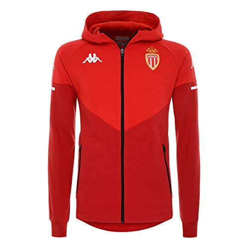 Kappa - Sweatshirt Arufeod As Monaco - Man - XL - Rouge, Rou