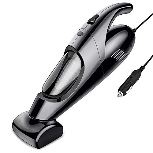 DBGS Portable Handheld Vacuum, Hand Vacuum Cordless with Powerful Cyclonic Suction, Cleaning Car Interior Best, Accessories Kit for Pet Hair,with 5 Attachments