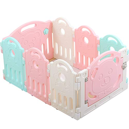 Lowest Price! YXGH@ Playpens Baby Safety Play Fence Children's Game Fence Indoor Outdoor Fitness Kid...